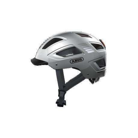 Cykelhjelm Abus Hyban 2.0 Signal silver