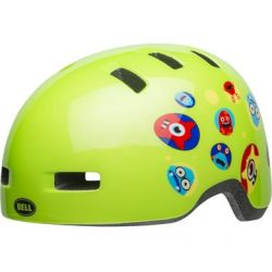 Bell Cykelhjelm Lil Ripper , Monster Gloss Green Baby