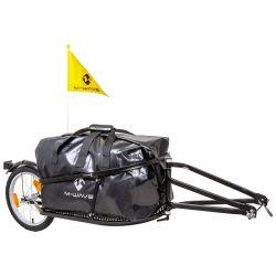 Cykelanhænger med taske - Sort |Fra M-wave