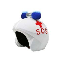 Politi LED hjelmbetræk fra CoolCasc