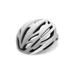 Giro Syntax cykelhjelm, Mat Hvid/Sølv mips