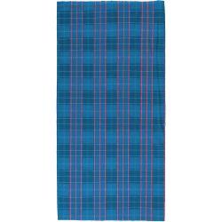 M-WAVE -  Halsedisse - blå / rød firkantet