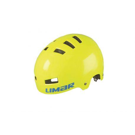 Cykelhjelm Limar 360° TEEN yellow fluo  - Cykelhjelm