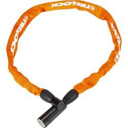 Orange Trelock BC115 kædelås m. nøgle 110cm/4mm