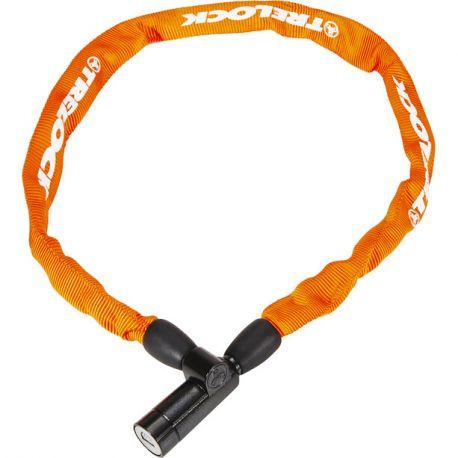 Cykelhjelm Orange Trelock BC115 kædelås m. nøgle 110cm/4mm