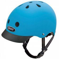 Nutcase - Street Bay Blue Matte Cykelhjelm