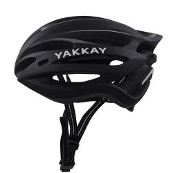 Yakkay Light One Black - cykelhjelm