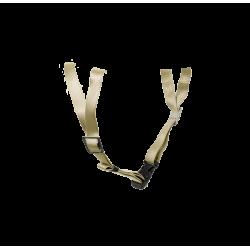 Stropsæt Two til Yakkay cykelhjelm - Golden Blonde