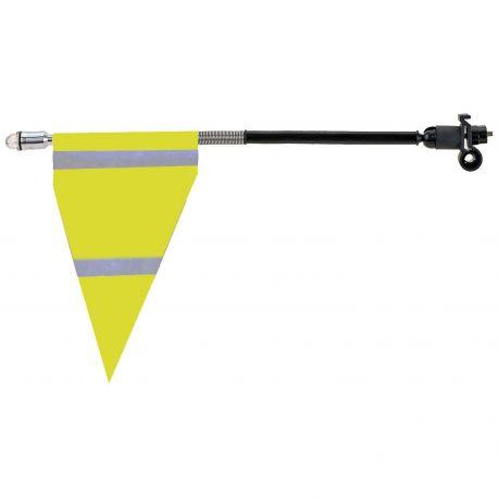 Køb Advarselsflag til bagagebærer – foldbart med refleksivt tape og LED