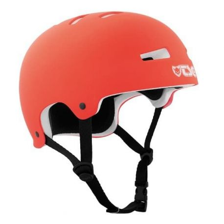 Cykelhjelm Evolution TSG Solid Color, Bright Coral