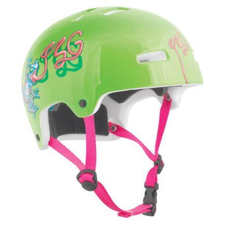 Cykelhjelm Nipper Maxi TSG Frog Børn, 52-54 cm