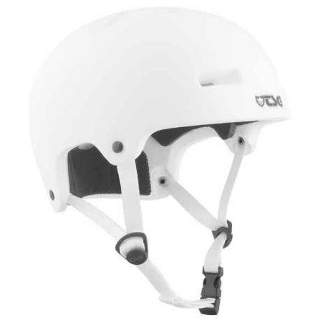 Cykelhjelm Nipper Maxi TSG Satin White Børn, 52-54 cm