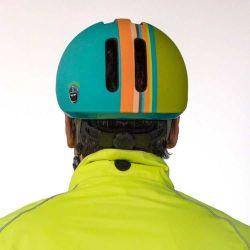 Nutcase Deco Stripe Metroride Cykelhjelm