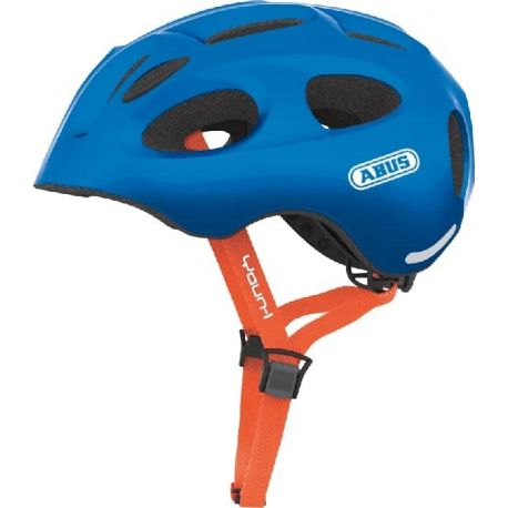Cykelhjelm Sparkling Blue Youn-I juniorhjelm fra Abus