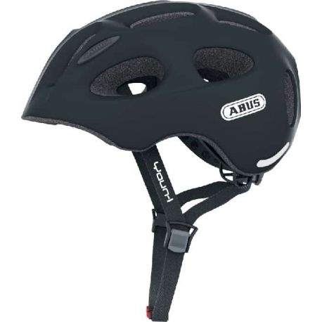 Cykelhjelm Black Youn-I juniorhjelm fra Abus