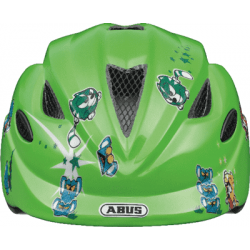 Green Catapult Anuky børnehjelm fra Abus
