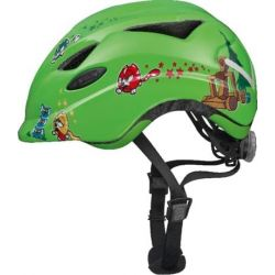 Image of   Green Catapult Anuky børnehjelm fra Abus