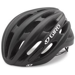 Sort/hvid Giro Saga Cykelhjelm