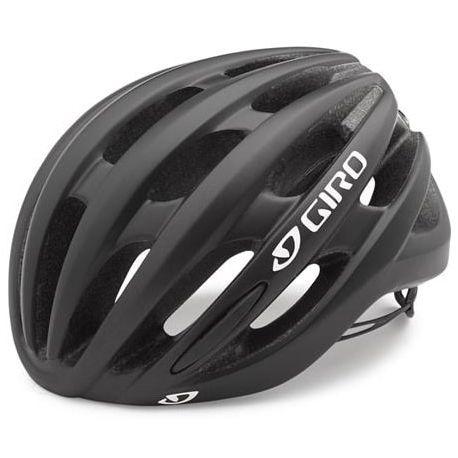Cykelhjelm Sort/hvid Giro Saga Cykelhjelm