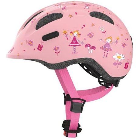 Cykelhjelm Rose Princess Smiley 2.0 børnehjelm fra Abus
