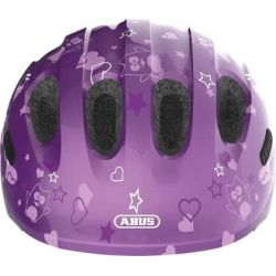 Purple Star Smiley 2.0 børnehjelm fra Abus