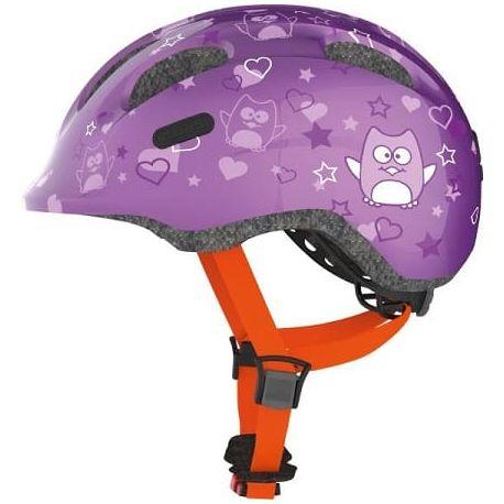 Cykelhjelm Purple Star Smiley 2.0 børnehjelm fra Abus