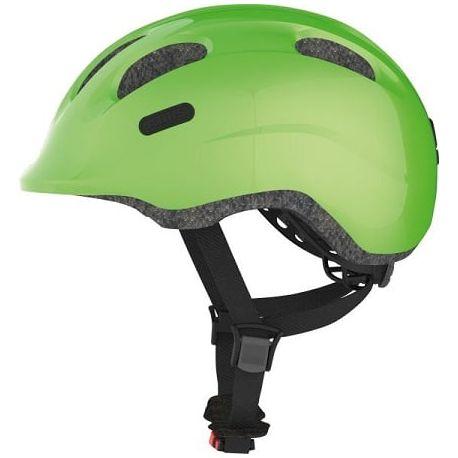 Cykelhjelm Sparkling Green Smiley 2.0 børnehjelm fra Abus