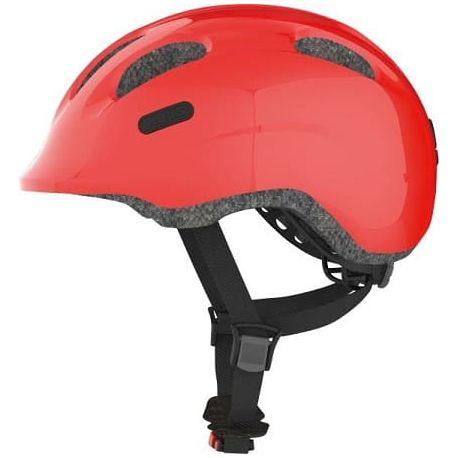 Cykelhjelm Sparkling Red Smiley 2.0 børnehjelm fra Abus