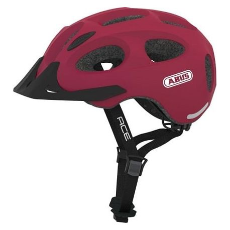 Cykelhjelm Cherry Red Youn-I Ace cykelhjelm fra Abus