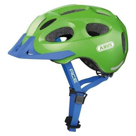 Cykelhjelm Sparkling Green Youn-I Ace cykelhjelm fra Abus