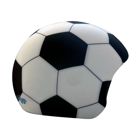 Cykelhjelm Fodbold hjelmbetræk fra CoolCasc