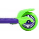 Lilla/grøn Maui Mini Sharkman junior løbehjul