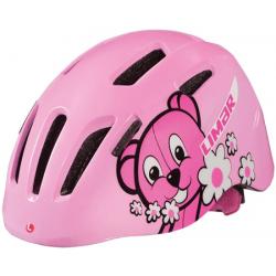 Limar 224 Pink Teddy Bear børnehjelm