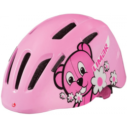 Pink Teddy Bear Limar 224 børnehjelm
