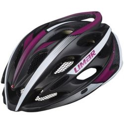 Image of   Matt Titanium Purple Limar Ultralight+ cykelhjelm