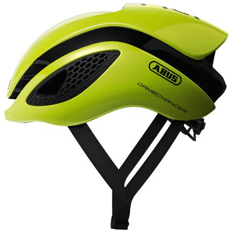 Cykelhjelm Neon Yellow GameChanger cykelhjelm fra Abus