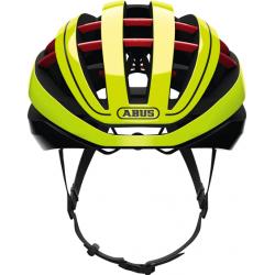 Neon Yellow Aventor cykelhjelm fra Abus