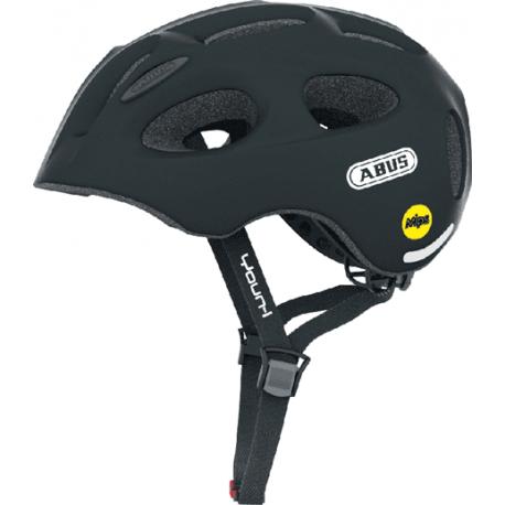 Cykelhjelm Black Youn-I MIPS juniorhjelm fra Abus