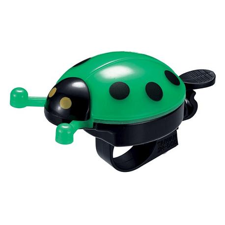Mariehøne ringeklokke, grøn   Bells