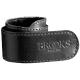 Sort læder buksestrap fra Brooks, 1 stk.