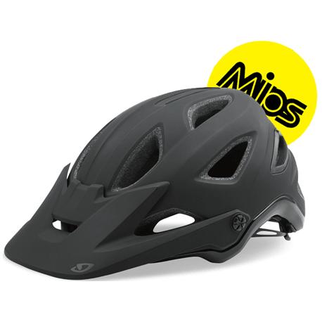 Cykelhjelm Giro Montaro MIPS, sort/glans