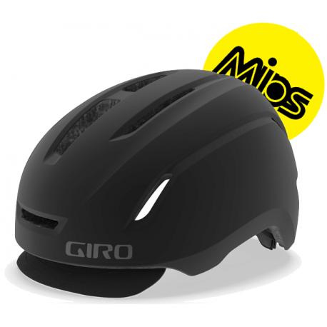 Cykelhjelm Giro Caden MIPS cykelhjelm, mat sort