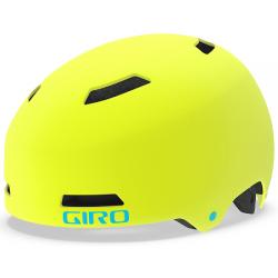 Giro Dime FS junior cykelhjelm, citron/iceberg