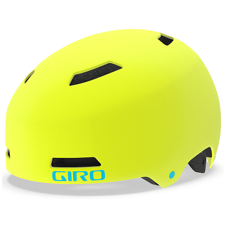 Cykelhjelm Giro Dime FS junior cykelhjelm, citron/iceberg