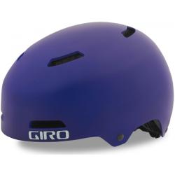 Giro Dime FS junior cykelhjelm, mat lilla