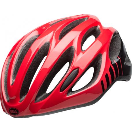 Cykelhjelm Bell Draft Ergo Fit cykelhjelm, Hibiscus/Sort