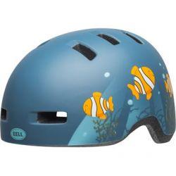 Mat Gråblå Bell Lil Ripper Clown Fish  Børnehjelm