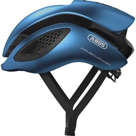 Cykelhjelm Steel Blue GameChanger cykelhjelm fra Abus