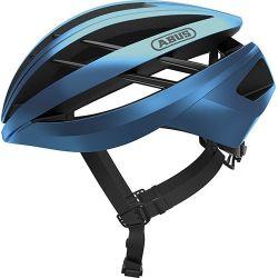 Steel Blue Aventor cykelhjelm fra Abus
