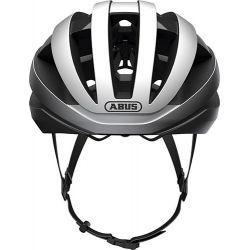 Viantor gleam silver cykelhjelm fra Abus